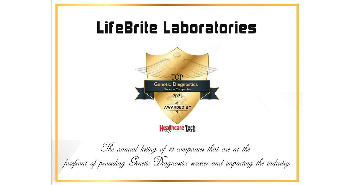 LifeBrite Labs award
